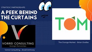 A Peek Behind The Curtains - The Orange Market (TOM app) with Brian Ovalles