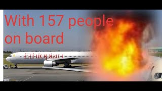 ETHIOPIAN AIRLINES PLANE CRACHES KILLING 157 PEOPLE THAT WERE ONBOARD