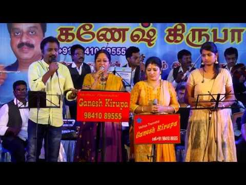 ORUVAR VAAZHUM AALAYAM by MUKESH in GANESH KIRUPA Best Light Music Orchestra in Chennai