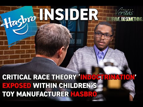 Hasbro whistleblower says company is pushing critical race theory agenda on children through its products