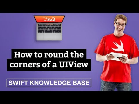 How to round the corners of a UIView – Swift 5 thumbnail