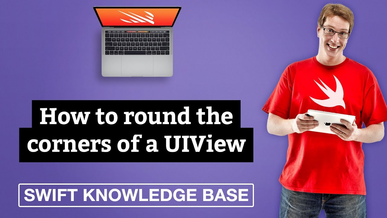 How to round the corners of a UIView - free Swift 5 1