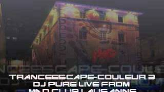 TranceEscape Couleur 3 DJ Pure Live from MAD Club Lausanne 18.9.1999