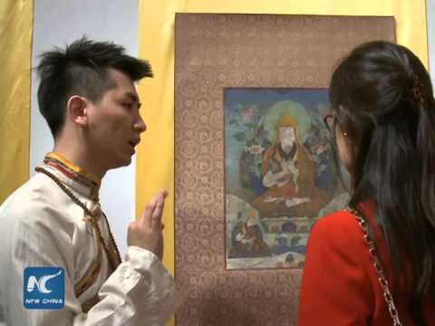 Exhibition promote Chinese traditional culture and Buddhism in London