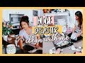 HUGE DISASTER CLEAN WITH ME!