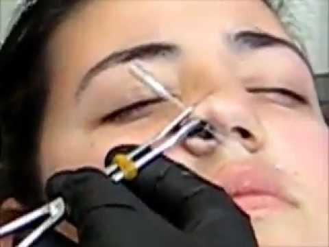 Piercing Nariz Lateral Youtube