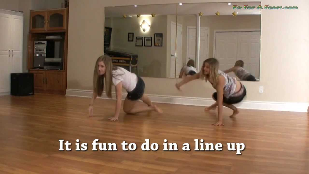 Dance Tutorial Floor Moves Knee Circles Fit For A
