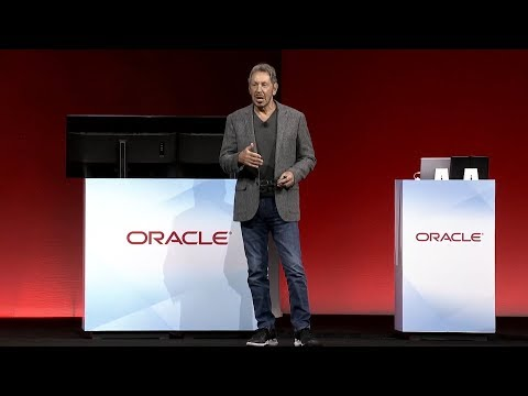 Oracle Fusion Cloud Applications—Secure, Extensible: Larry Ellison Keynote at OpenWorld 2018