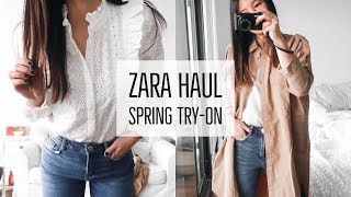 ZARA SPRING HAUL | TRY-ON