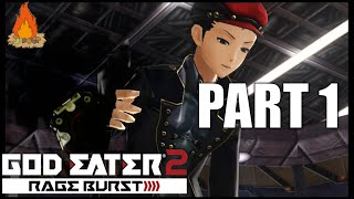 God Eater 2 : Rage Burst (PS Vita) Gameplay - PART 1