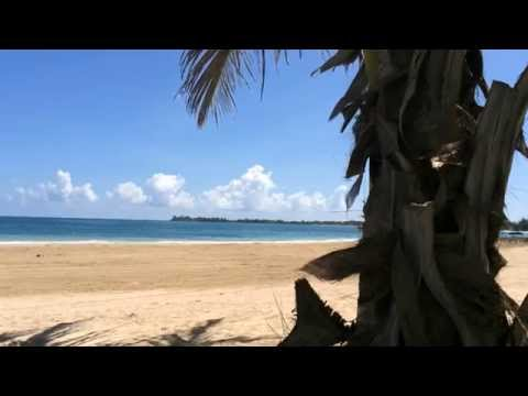 Relaxing Beach Video - San Juan, Puerto Rico