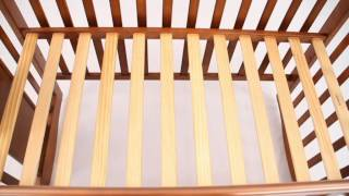 Bambies Wooden Cot