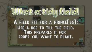 Rune Factory 4: How-To Trailer 1 -Farming-