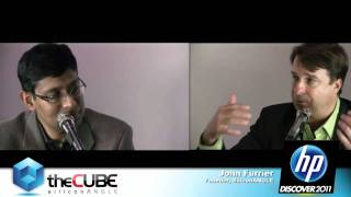 Prith Banerjee, SVP, Director of HP Labs - HP Discover 2011 - theCUBE