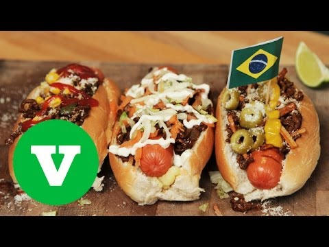 How To Make Brazilian Hot Dogs | Good Food Good Times World Cup 2014 Special
