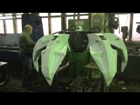 Завод СКАТ г. Тверь производство первого ассиметричного грейфера СК-6А для металлома