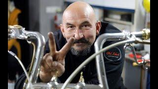 Człowiek, który zbudował motocykl jak z bajki
