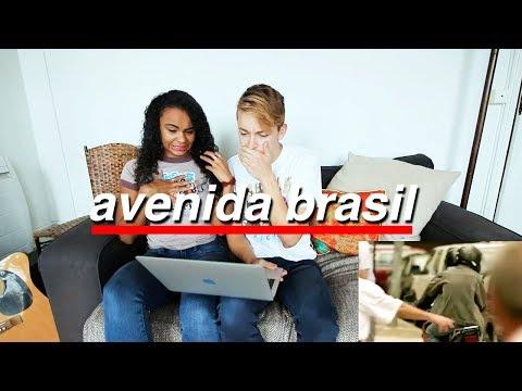 REAGINDO À AVENIDA BRASIL 🇧🇷