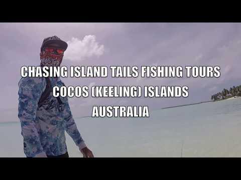 BONEFISH FLY FISHING COCOS (KEELING) ISLANDS AUSTRALIA