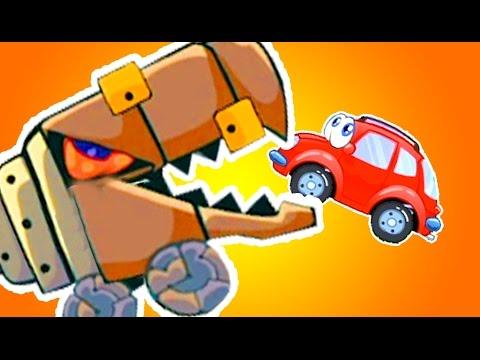 Мультик игра - Вилли машина и зубатый робот. Красная Машинка для детей 4 лет. Вилли 8 прохождение