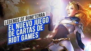 LEGENDS OF RUNETERRA: jugamos al NUEVO juego de CARTAS DE RIOT GAMES
