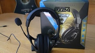 unboxing turtle beach px24 per ps4 ita