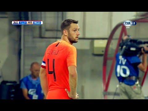 Stefan De Vrij vs Slovakia(31/05/2018)Friendly HD 720p by轩旗