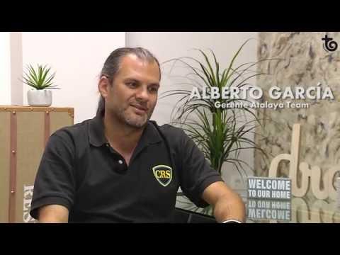 Alberto García Zafra, gerente de Atalaya Team.