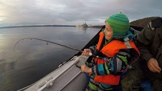 РЫБАЛКА В ЗАЛИВЕ ОСЕНЬЮ / FISHING IN THE BAY IN THE FALL