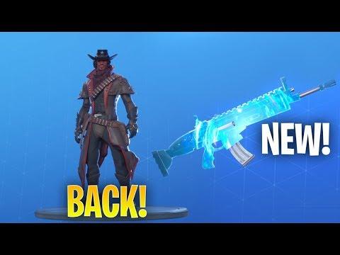 *NEW* FRACTAL ZERO ANIMATED WRAP & DEADFIRE SKIN BACK! Fortnite Item Shop August 7