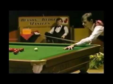 Crazy entertaining Alex Higgins unothodox shots, must see!!!!