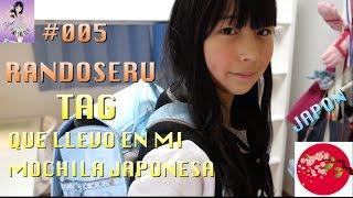 TAG QUE LLEVO EN MI MOCHILA JAPONESA ❤️#005 JAPON