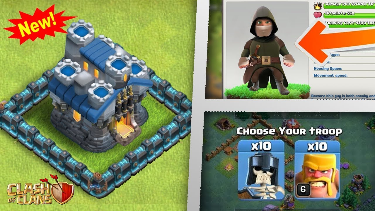 New Huge Update Coming Th12 New Troops 2nd Name Change Clash