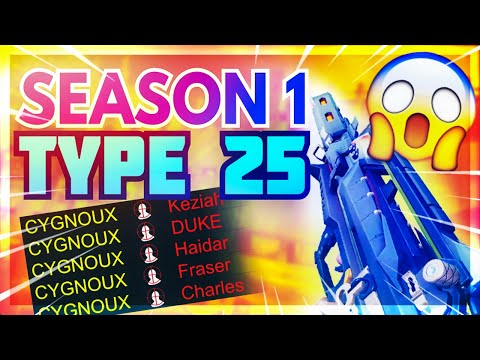 OG Season 1 Type 25 Gunsmith Setup! Fast ADS + NO RECOIL Type 25 Attachments! BEST Type 25 Loadout?