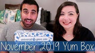 November 2019 Universal Yums Yum Box Unboxing and Taste Test (Yum-Yum Box)