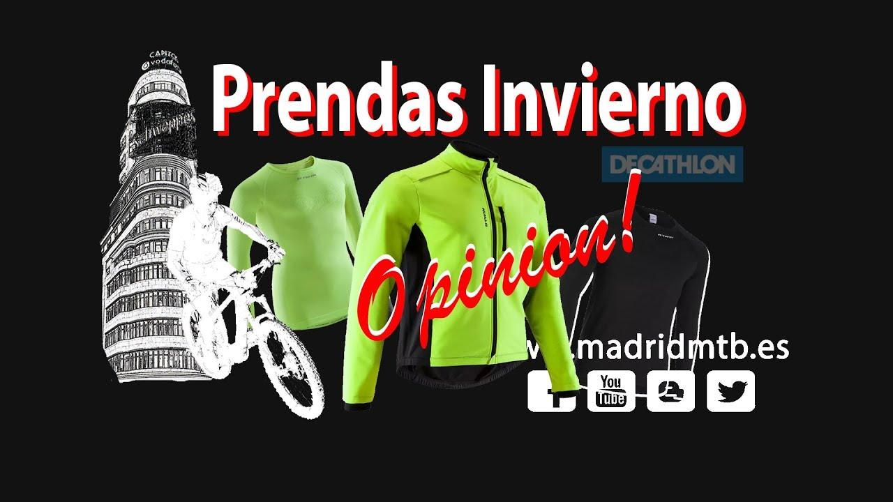 nuevo producto elegante y elegante calidad real Chaqueta Ciclismo Decathlon B´twin 100 || Pasando frío a 5º