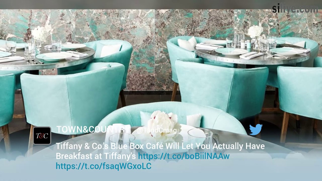 See Inside Tiffany S Blue Box Cafe