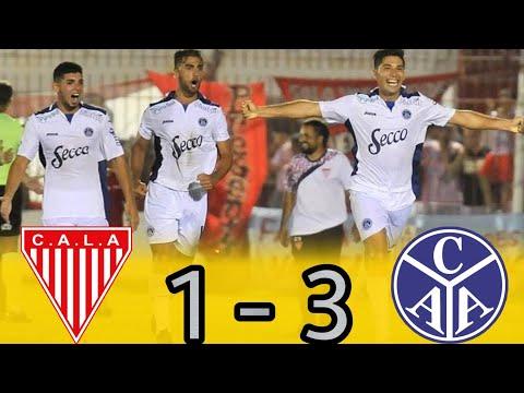 Primera B : LOS ANDES 1 - 3 ACASSUSO   (Los Goles)
