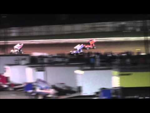 Williams Grove Speedway 410 and 358 Sprint Car Highlights 05-30-15