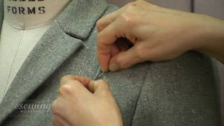 Jacket Shoulder Alteration - First Fitting (FREE SAMPLE)