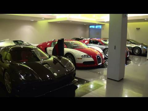 1080: Supercar collection in detail: Bugatti Veyron, Enzo Ferrari, Koenigsegg, Gemballa Mirage GT