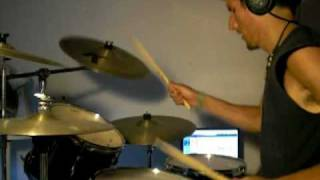 Creedence Clearwater Revival - Sweet Hitch Hiker drum cover