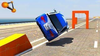 BeamNG.drive - Impossible Car Stunts #5 Video