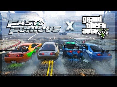 GTA 5 Online - FAST AND FURIOUS IN GTA! (New Supra) thumbnail