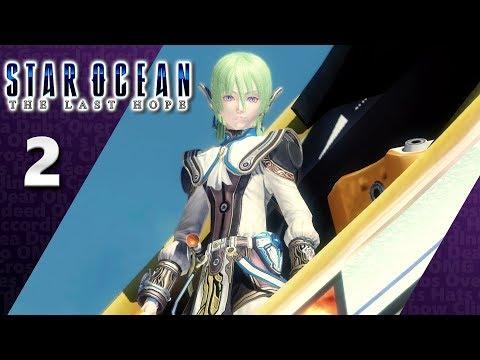 Star Ocean: The Last Hope (PS4, Let's Play)   An Alien Encounter!   Part 2, 'Kay.