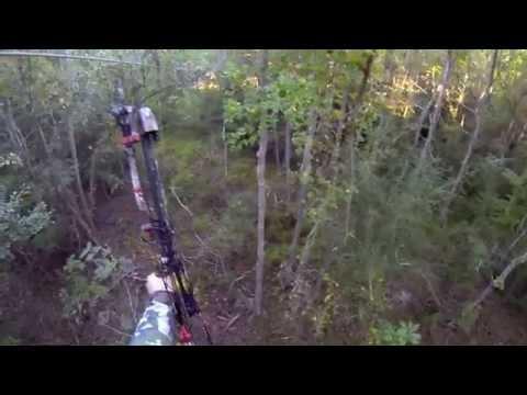 Louisiana Deer Hunt - Bowhunting w/ GoPro