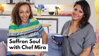Chef Mira on vegetarian Indian food & her wellness journey | On The Glow