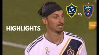 Zlatan Ibrahimovic vs Real Salt Lake Highlights | LA Galaxy vs Real Salt Lake 01/09/2018