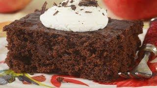 Chocolate Apple Cake Recipe Demonstration - Joyofbaking.com