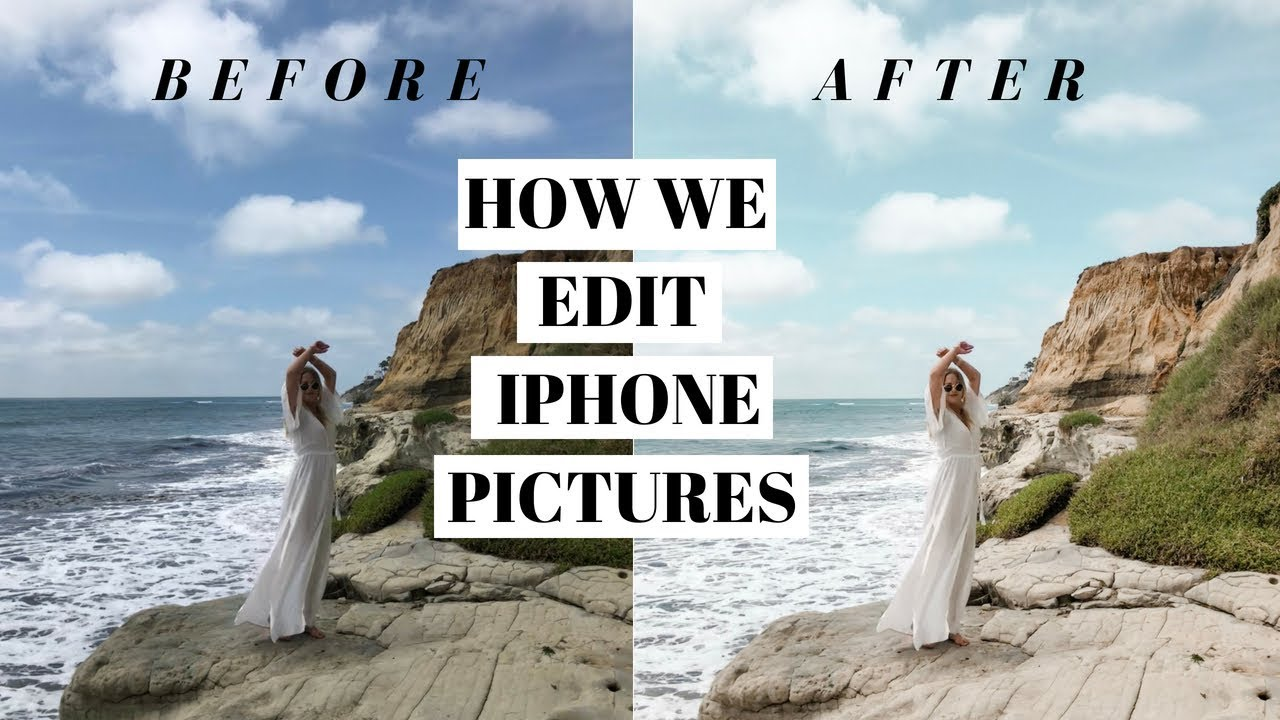 HOW WE EDIT IPHONE PICTURES ON LIGHTROOM MOBILE
